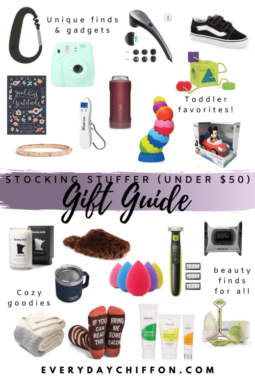 Stocking Stuffers (for EVERYONE) under $50 | Everyday Chiffon