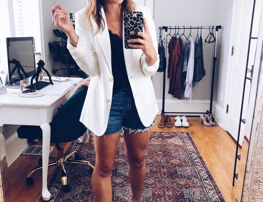 Linen Blazer Styled 4 Ways | Everyday Chiffon