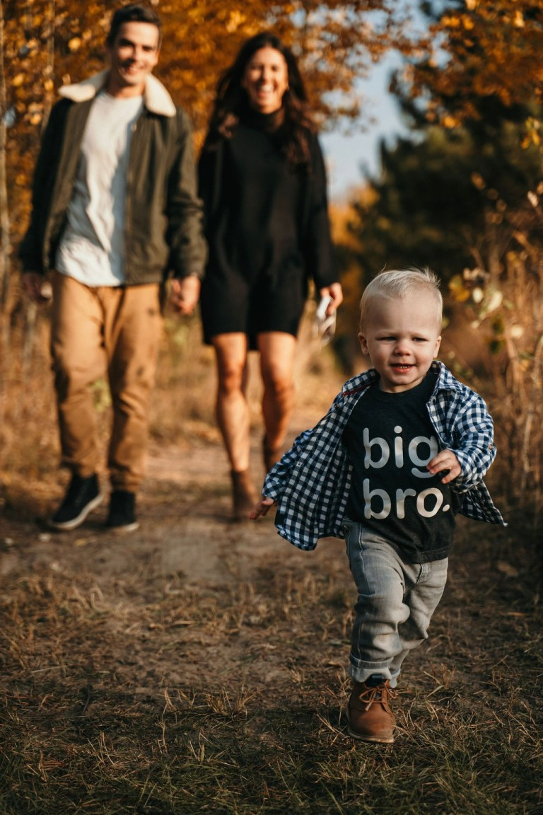 Fall Family Photos & Dishing on Baby 2.0 | Everyday Chiffon