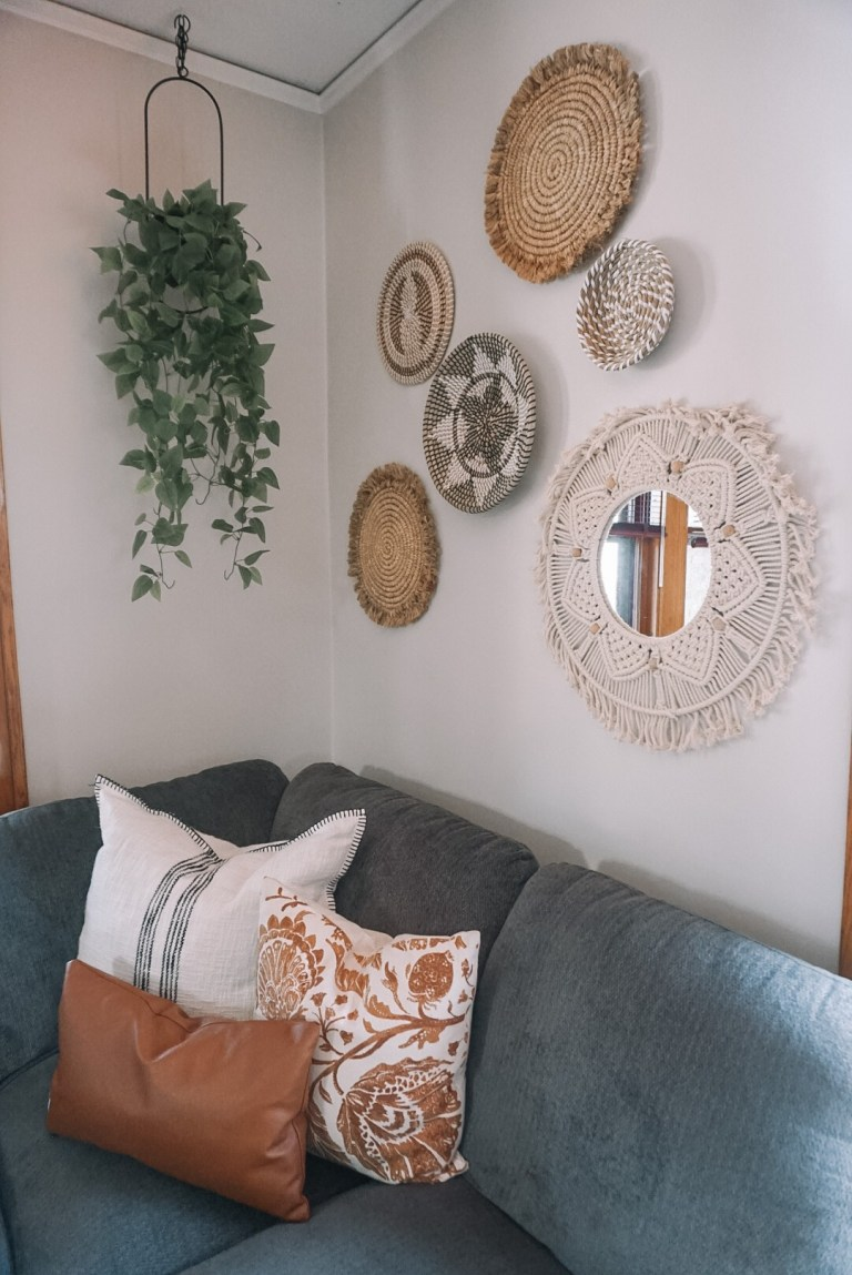 Living Room Reveal: Before & After - 100 Year Old Home Renovation | Everyday Chiffon