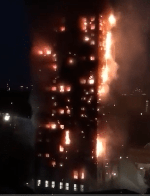 Grenfell Tower_ Massive Building Fire1