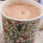 A mug of Spiced Hot Chocolate