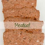 Slices of meatloaf