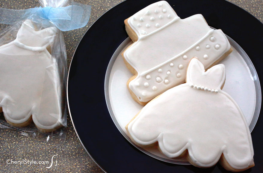 Iced Bridal Shower Cookies Everyday Dishes