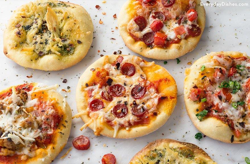 Quick And Easy Mini Pizza Appetizers Recipe