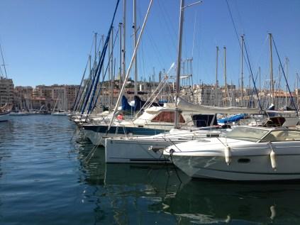 The vieux port...