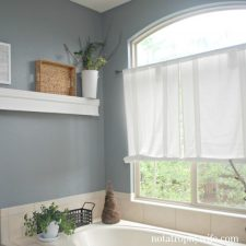 New Paint in the Master Bath | Before and After