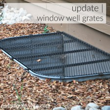 How to Refresh Window Well Grates