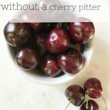 Northwest Grown Sweet Cherries | How to Pit Cherries without a Cherry Pitter