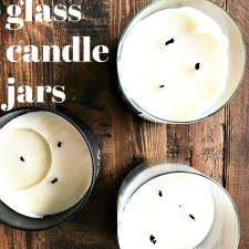 How to Upcycle Glass Candle Jars