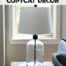 Pottery Barn Knockoff Lamp