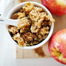 Autumn in the Season for  Apple Crumble