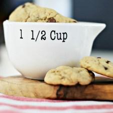 Chocolate Chip- Peanut Butter-Banana Cookies