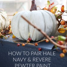 How to Pair Hale Navy & Revere Pewter Paint