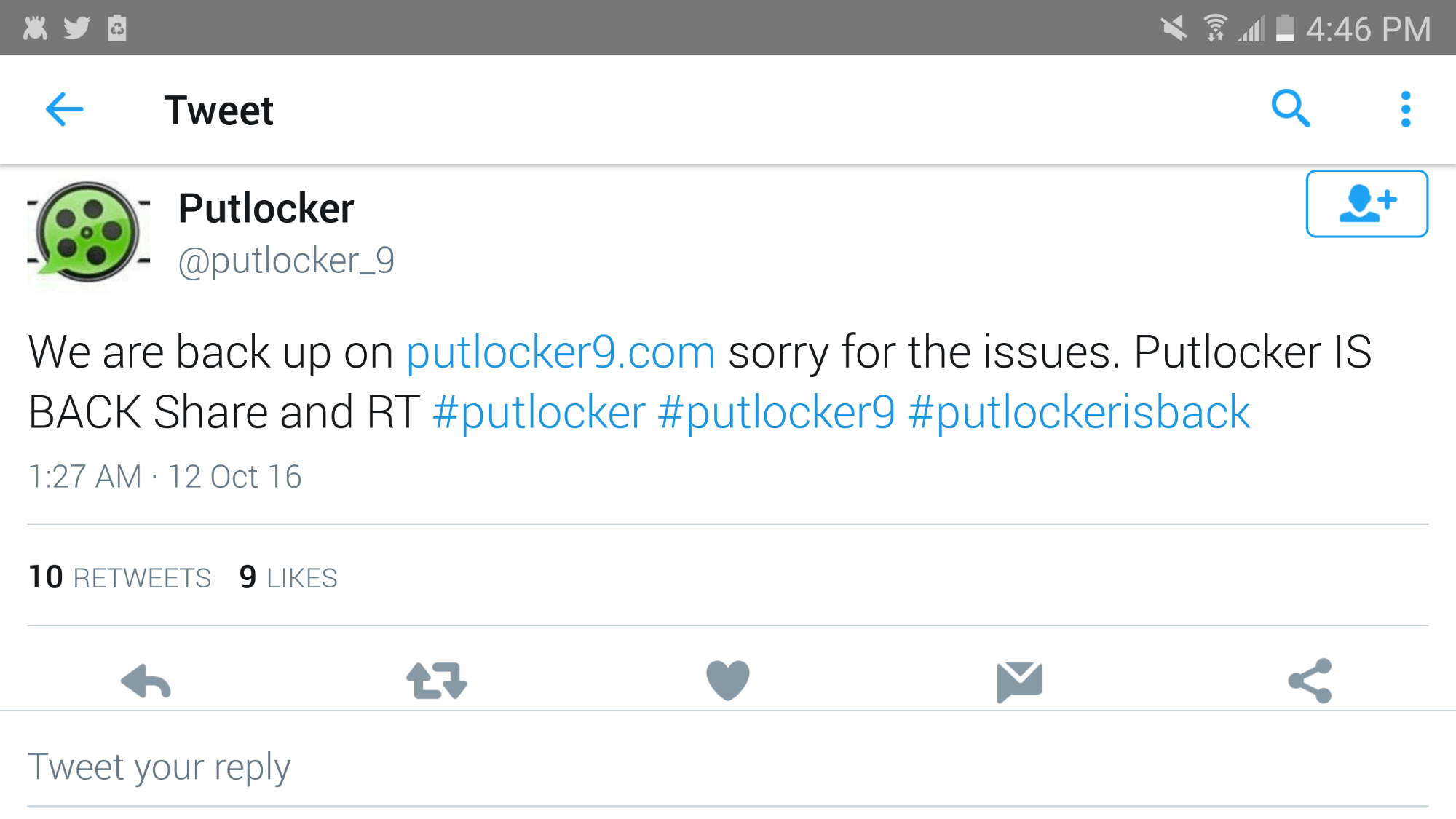 Putlocker.is Still Down After 8 Days! – EverydayElectronics