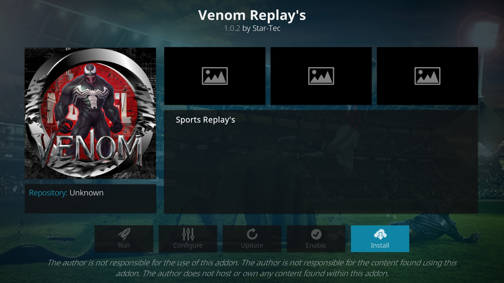How To Install Venom Replay's Kodi Addon – EverydayElectronics
