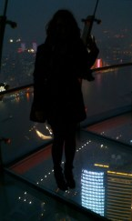 The Oriental Pearl Tower - transparent observatory