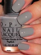 nail color gray