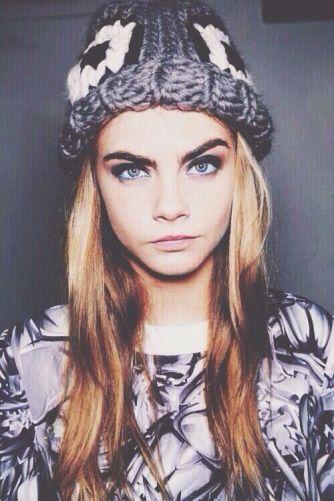 cara delevigne dark brows