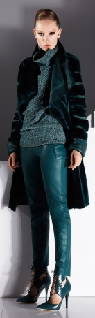 colored leather pants
