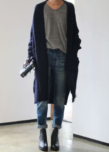 everydayfacts long cardigan