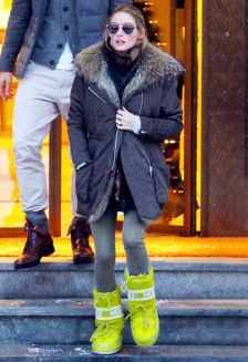 Moon Boot Olivia Palermo