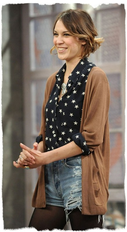 everydayfacts star print alexa chung