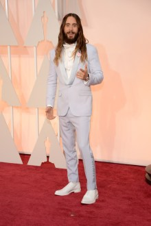 Dresses at the Oscars 2015 Jared Leto