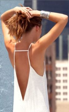 everydayfacts white summer dress