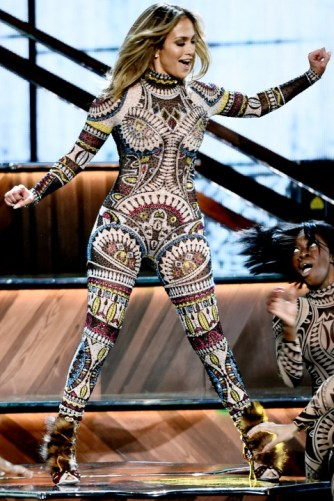 American Music Awards 2015 Jennifer Lopez 1