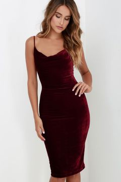everydayfacts velvet party dresses
