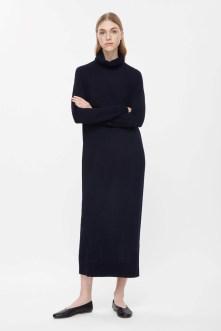 warm dress cos