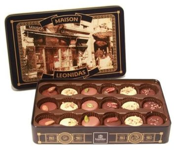 chocolate box leonidas