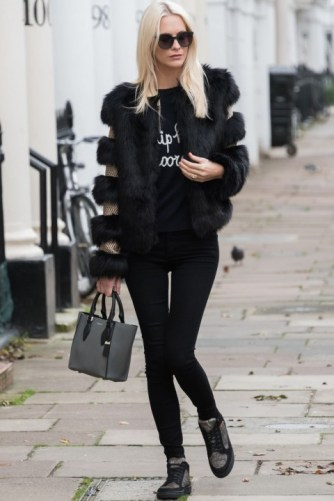 everydayfacts Poppy Delevingne casual outfit