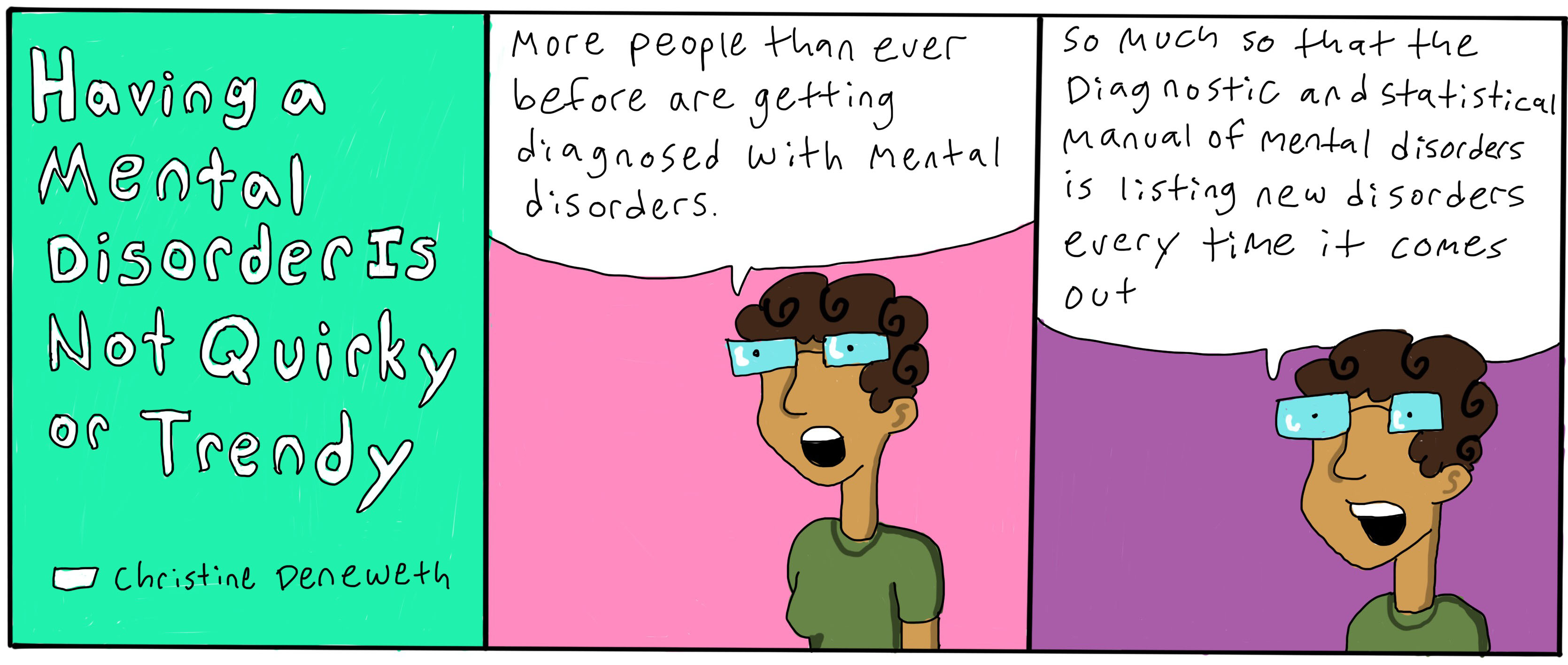 Having A Mental Disorder Is Not Trendy