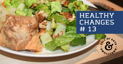 """Healthy Change #13 – """"Rate Your Plate"""""""