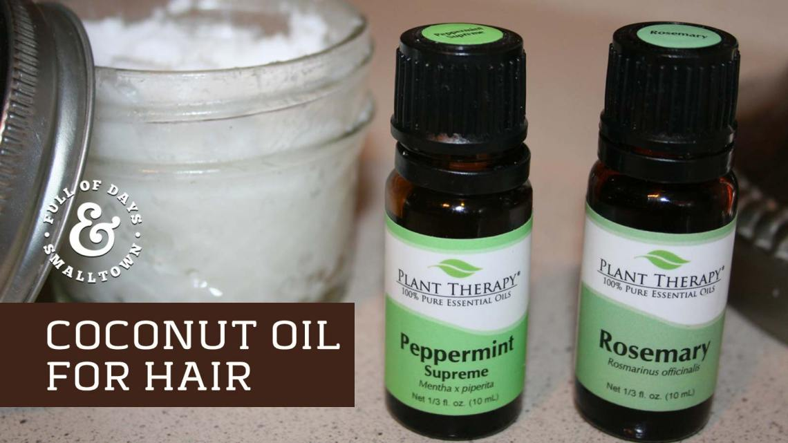 Coconut Oil Hair Care Header