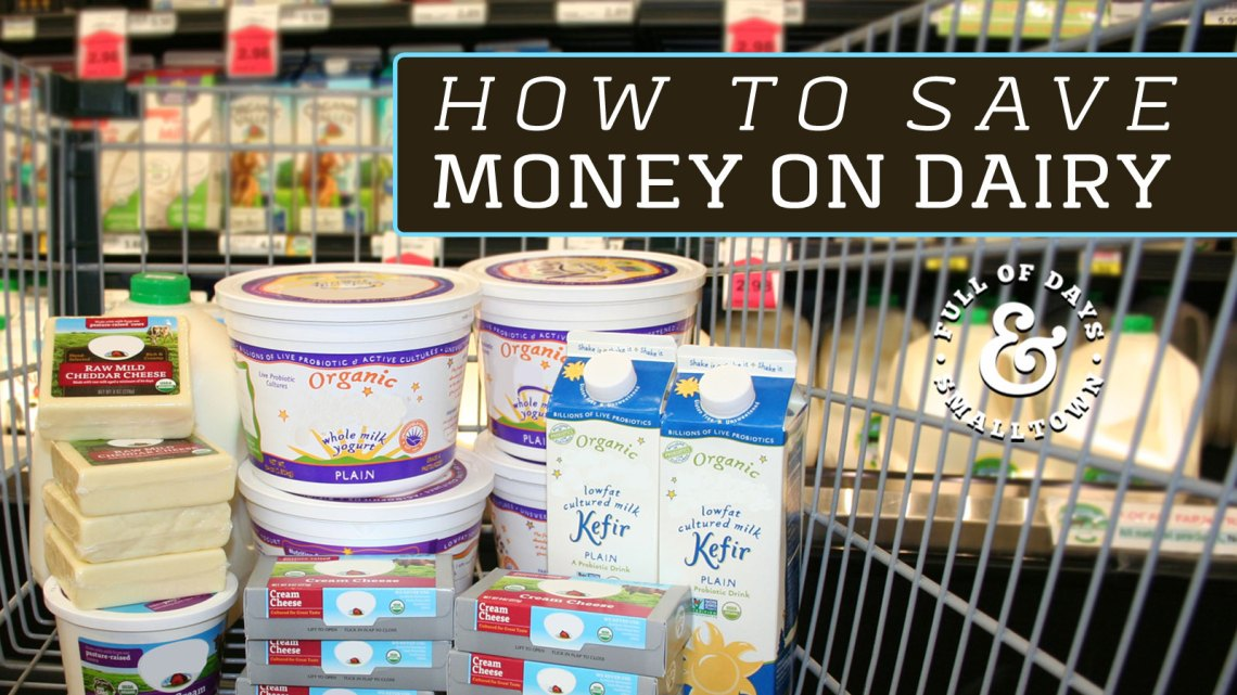 How To Save Money On Dairy Header