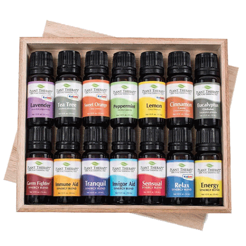 Plant Therapy 7 & 7 Essential Oils Starter Set