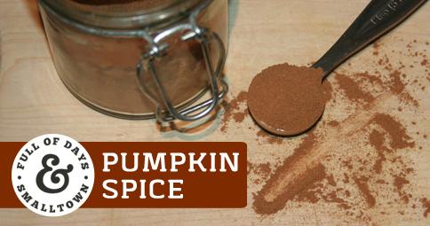 DIY Pumpkin Spice