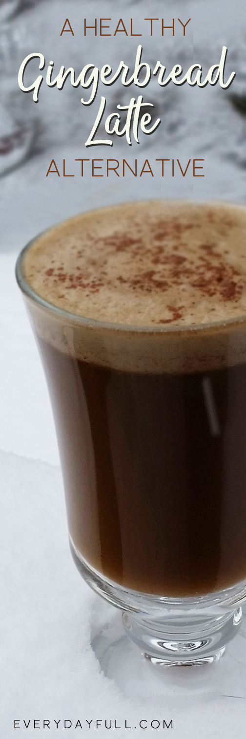 Gingerbread Latte Pinterest Pin