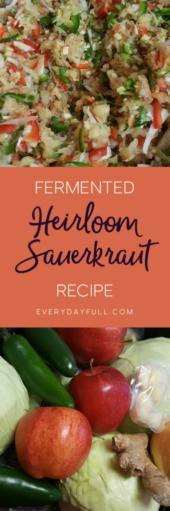 Heirloom Sauerkraut Pinterest Pin