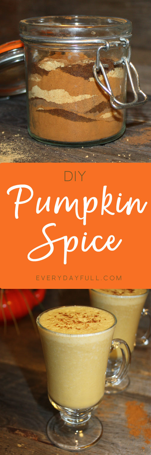 Pumpkin Spice Mix Pin