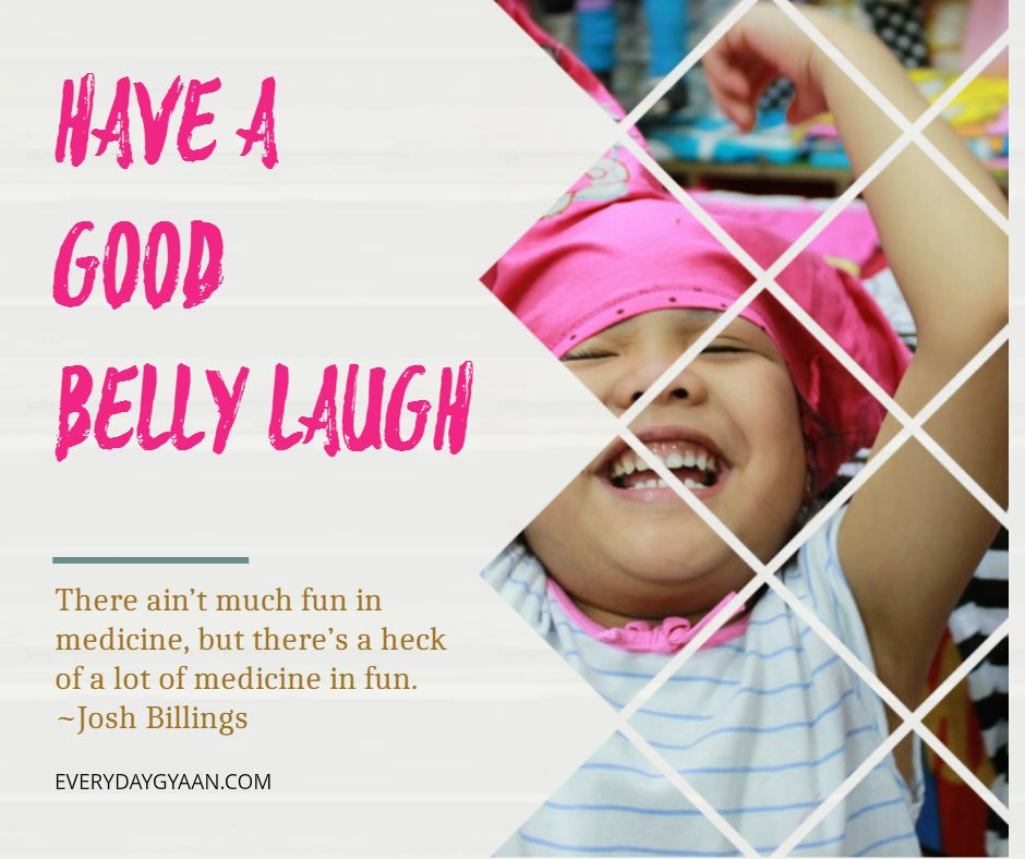 Have A Good Belly Laugh #MondayMusings