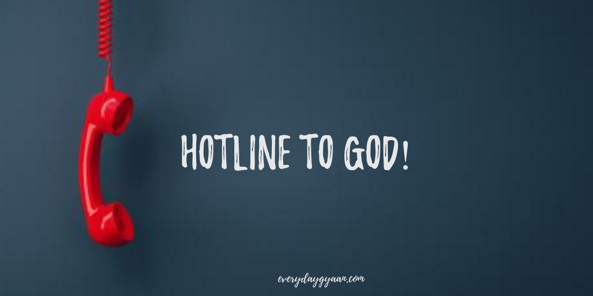 hotline to god