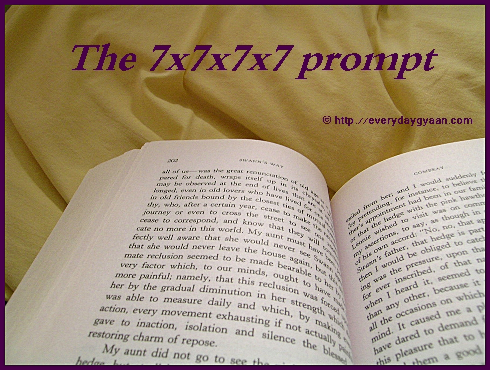 The 7x7x7x7 Writing Prompt