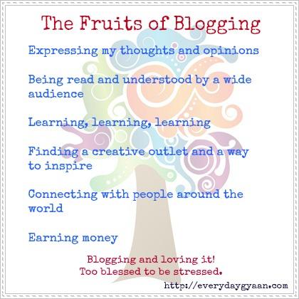 blogging is fruitful1