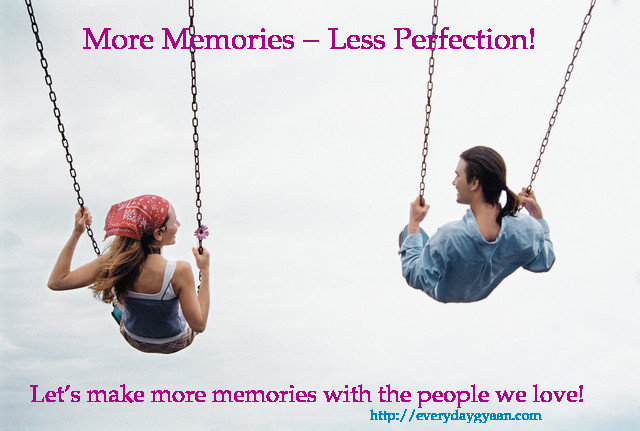 More Memories, Less Perfection