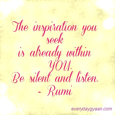 Where To Find Inspiration