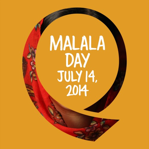 Malala Day 2014 #STRONGERTHAN